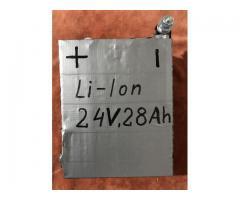 Baterie Li-ion 24V 28A